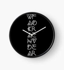 Wakanda Forever Clock