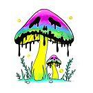 Poison Shroom by JollyNihilist