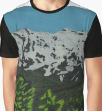 Mount Ruapehu, New Zealand Graphic T-Shirt