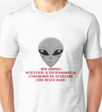 Rio Arriba Scientific & Technological Underground Auxiliary Unisex T-Shirt