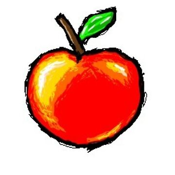 Cute Vintage Apple by NemJames