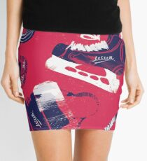 Tools of a Hockey Player Mini Skirt