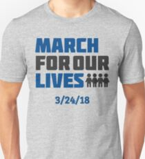 March For Our Lives - 3/24/18 Unisex T-Shirt