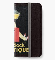 Vintage Beer Poster iPhone Wallet/Case/Skin