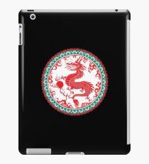 Asian dragon. Good luck! iPad Case/Skin