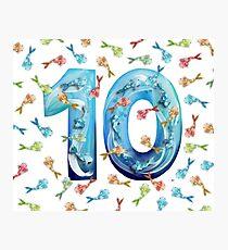 Number Ten Koi Photographic Print