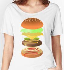 Hamburger Women's Relaxed Fit T-Shirt