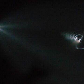SpaceX Iridium Flight 4 by MCHerdering