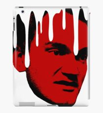 Quentin Tarantino Dripping Head iPad Case/Skin