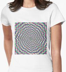 Optical Illusion, delusion, fantasy, hallucination, phantasm, phantom, ghost, specter Women's Fitted T-Shirt