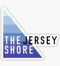The Jersey Shore Geotag Sticker