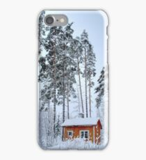 4.2.2015: Small and Abandoned Sauna III iPhone Case/Skin