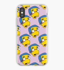 Milhouse On Pink iPhone Case