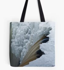 Water and Ice Tote Bag