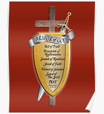 Armor of God for God's Army Poster