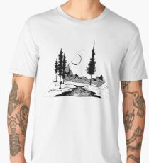 River & Pines Men's Premium T-Shirt