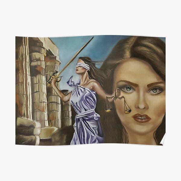 Themis of Delphi Poster