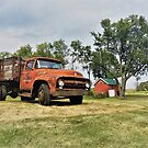 Old Farm Truck by Graphxpro