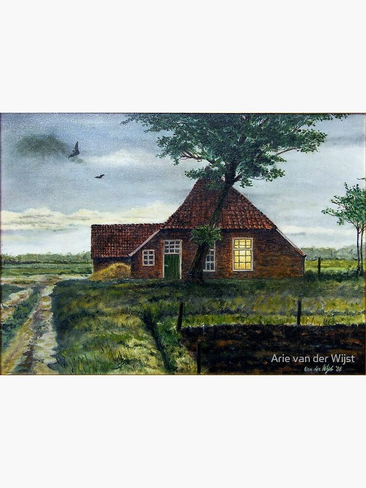 Dutch Farm at Dusk by Aart