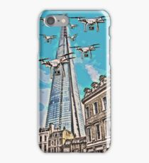 Drone swarm leaves the Shard nest! iPhone Case/Skin