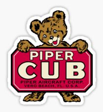 Classic CUB Bear Sticker