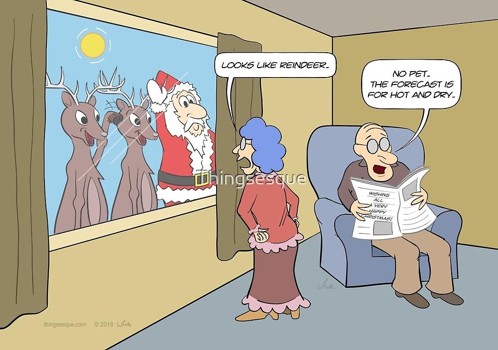 Looks Like Reindeer by Thingsesque
