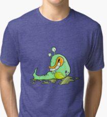 Slimey Slug Tri-blend T-Shirt