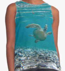 Under water sea turtle Contrast Tank