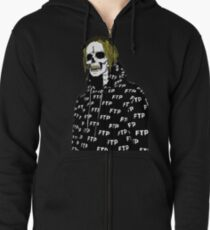 Undead Scrim Suicideboys altered  Zipped Hoodie