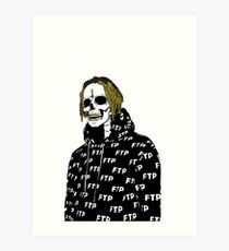 Undead Scrim Suicideboys altered  Art Print