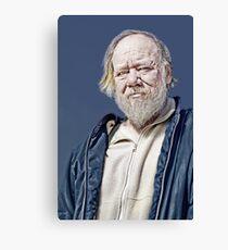 Portrait: Phil  Canvas Print