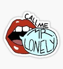 Mr. Lonely Sticker