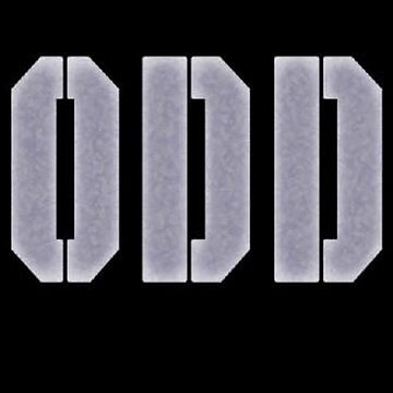 ODDLogo Grey On Black by OddProductions