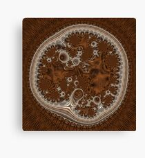 Cellular Machinery Canvas Print