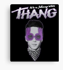 It's a Johnny Weir THANG Canvas Print