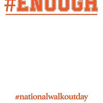 Gun Control, Not Thoughts & Prayers #Enough Shirt by JJDzignsShop