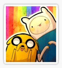 Finn&Jake Sticker