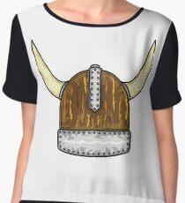 Viking Helmet Chiffon Top