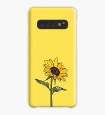 Aesthetic Sunflower  Case/Skin for Samsung Galaxy