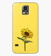 Ästhetische Sonnenblume Hülle & Klebefolie für Samsung Galaxy
