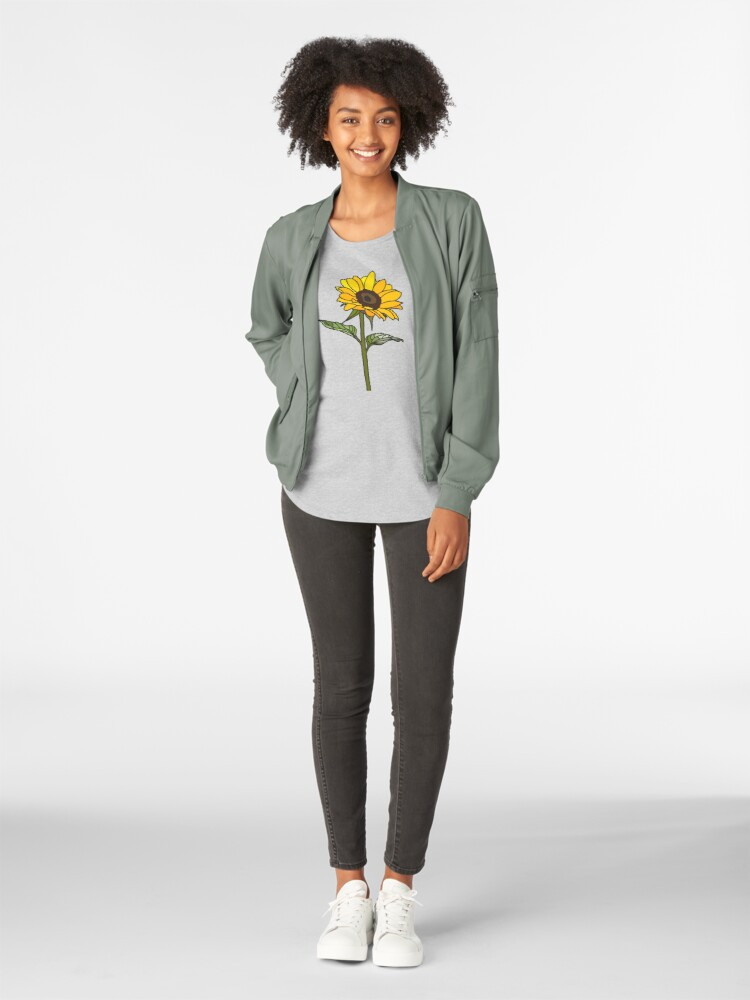Alternative Ansicht von Ästhetische Sonnenblume Frauen Premium T-Shirt