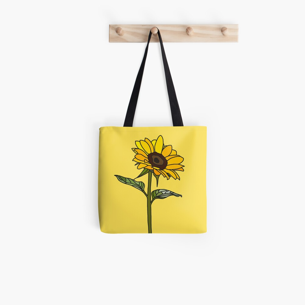 Ästhetische Sonnenblume Tasche