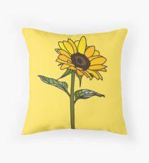 Ästhetische Sonnenblume Kissen