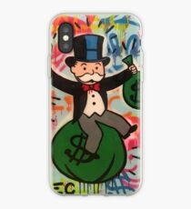 Alec Monopoly Painting Of Monopoly Man iPhone Case