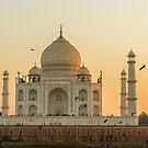 Taj Mahal at Sunset 01 by Werner Padarin