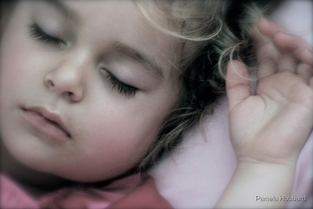 Sleeping Angel by Pamela Hubbard