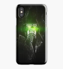 Gta V Green Style  iPhone Case/Skin