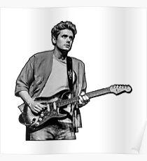 John Mayer Gitarre Poster