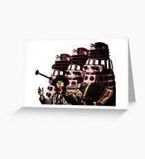 Doctor Who and the Daleks Greeting Card