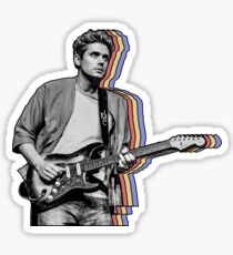 John Mayer Layered Sticker